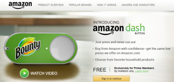Dash Button: l'ultima invenzione di casa Amazon