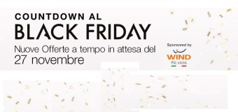 …e domani arriva il Black Friday
